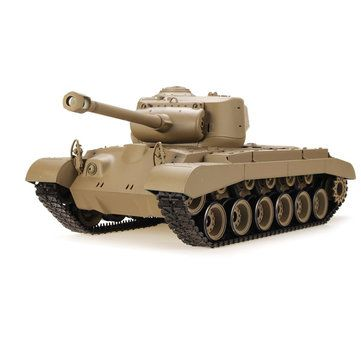 Share this amazing and cool RC Tank with all of you which is called Heng Long 1/16 US M26 Pershing Tank.