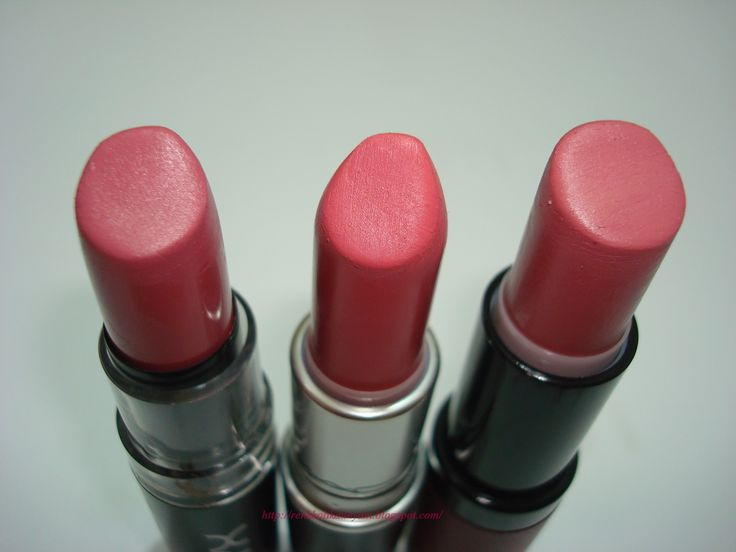 NYX Matte Lipstick Ruj No: 09 --Mac 'Nouvelle Vogue' mat ruj --  Golden Rose Velvet Matte Ruj No: 02