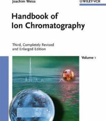Handbook Of Ion Chromatography PDF