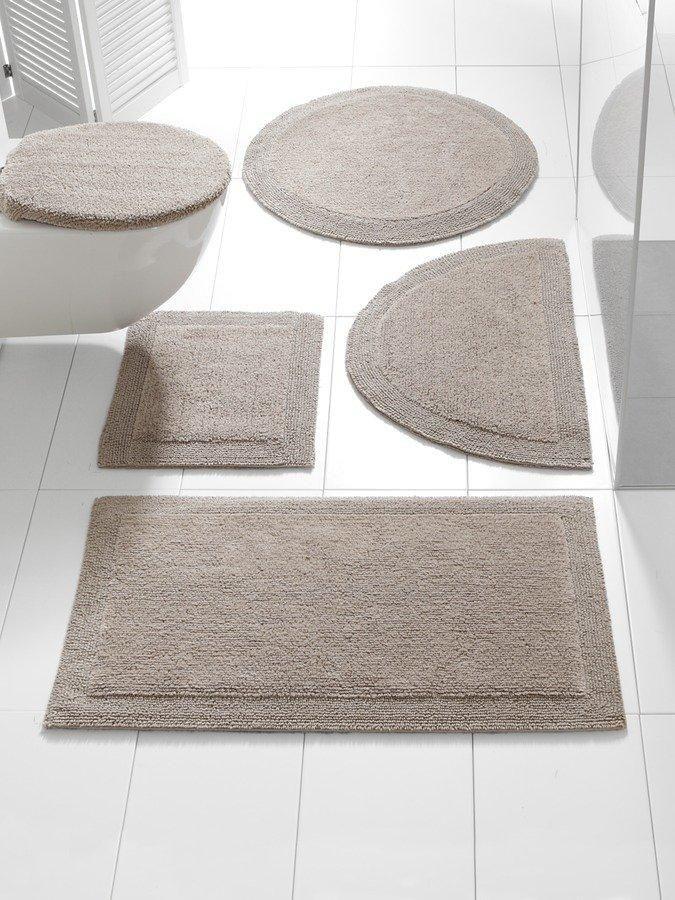 Wendemodell 100prozent Baumwolle Unterstutzt Cotton Madeafrica Ringsum Eingefasst Fur Fussbodenheizung Geeignet Waschbar Badteppich Teppich Badezimmerteppich