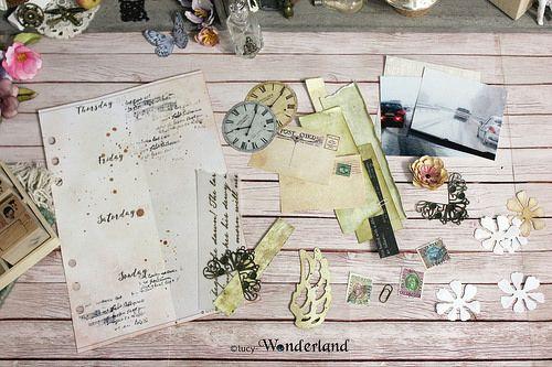 Scrappin'Planner Lucy-Wonderland