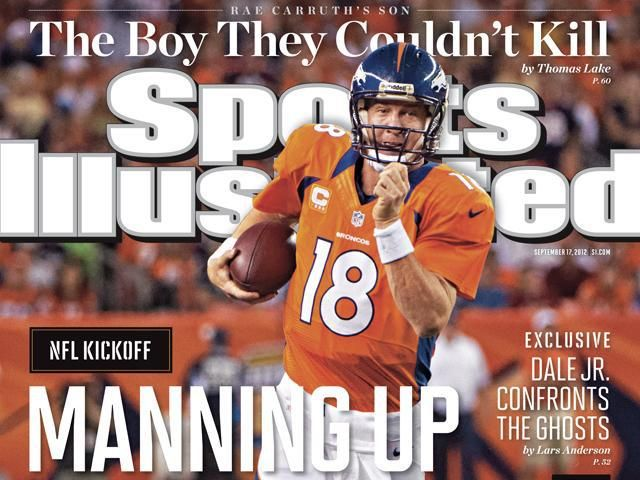 sports illustrated covers | Peyton Manning has Sports Illustrated cover, NFL's top-selling ...