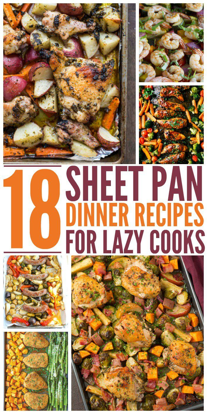 Who has time to make huge dinners these days? Who has time for cleanup? These Sheet pan dinners will save you time and hassle, leaving you free to enjoy your family more.