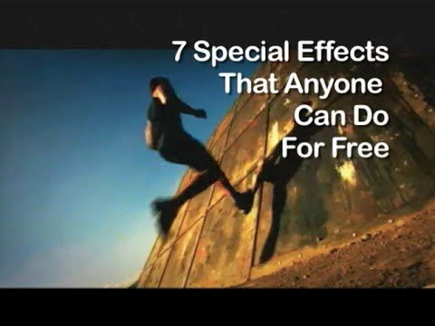 Tutorial on Cinematography - 7 Special Effects That Anyone Can Do For Free - YouTube