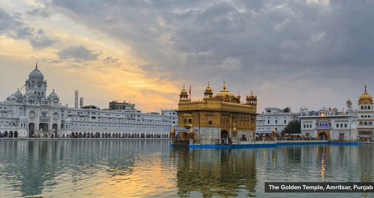 #The_Golden_Temple =  one of most religious place for sikh community of India. it is most famous and centre of various controversy.
