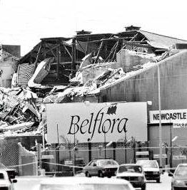 The Newcastle Earthquake. Australia. 28 December 1989.