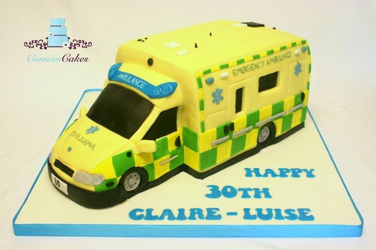 Ambulance Cake - Cake by Constance Grindrod