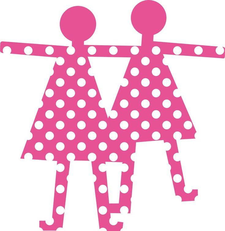 Appendiabiti LE SIGNORINE  Ideale per le camerette dei bambini