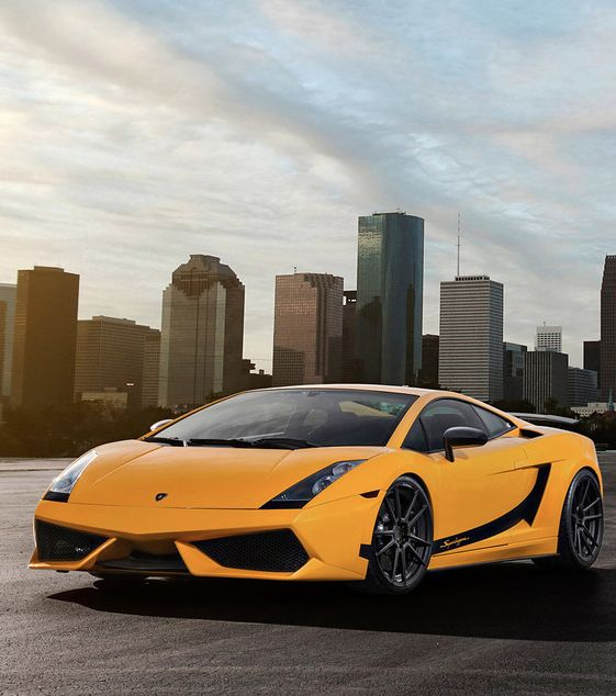 """The Superleggera is the hard-core version of Lambo's entry-level supercar, the Gallardo. """"a real racecar fro the streets"""" #ADV1 #SexySaturday"""