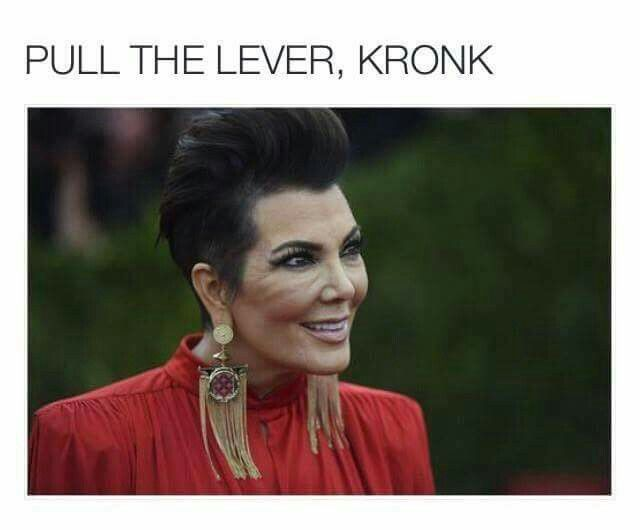 Pull the lever Kronk!