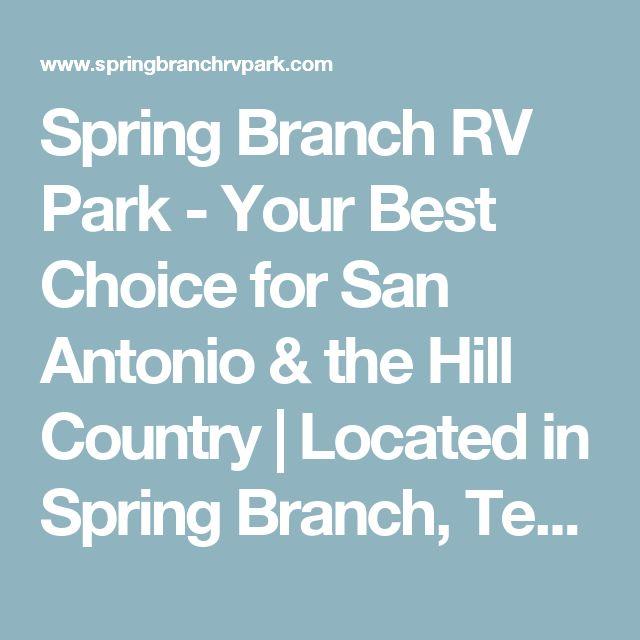 Spring Branch RV Park