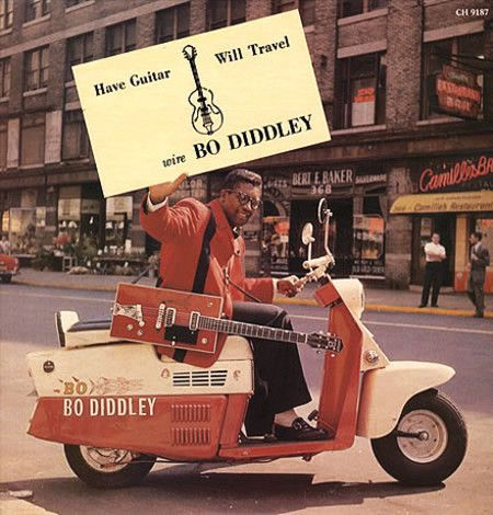 LP BO DIDDLEY - HAVE GUITAR WILL TRAVEL