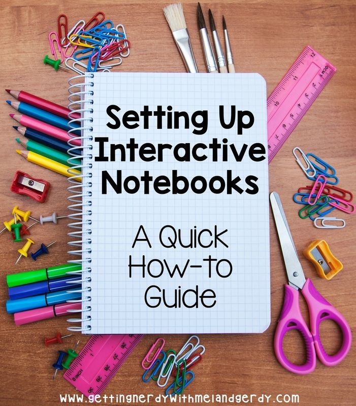 A how-to guide to setting up Interactive Notebooks in your classroom - especially great for science!