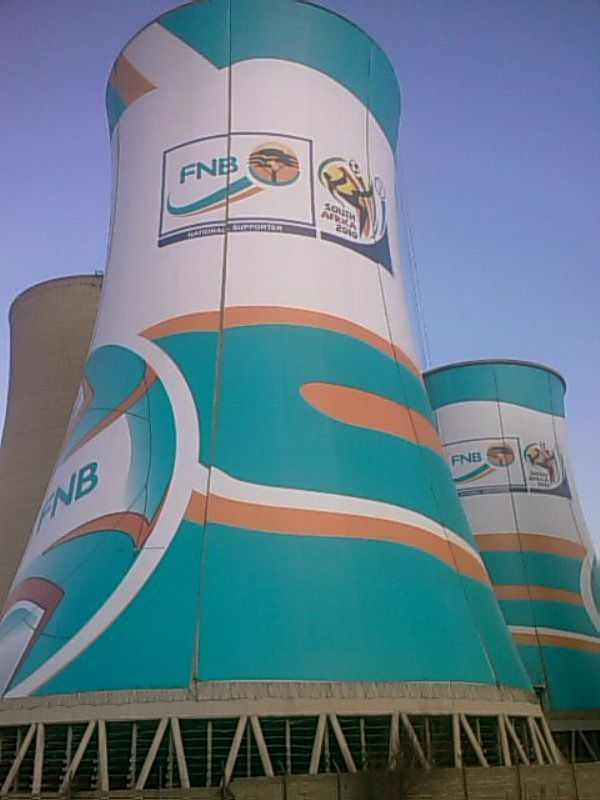 Cooling Towers, Bloemfontein, South Africa www.scafftech.co.za