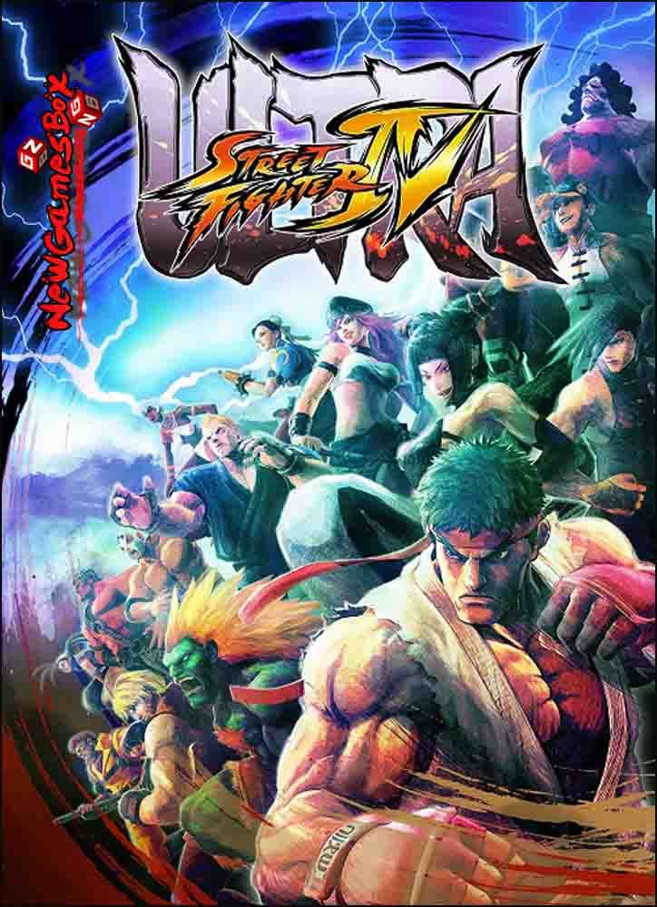 Ultra Street Fighter IV PC Game Free Download Full Version, Repack