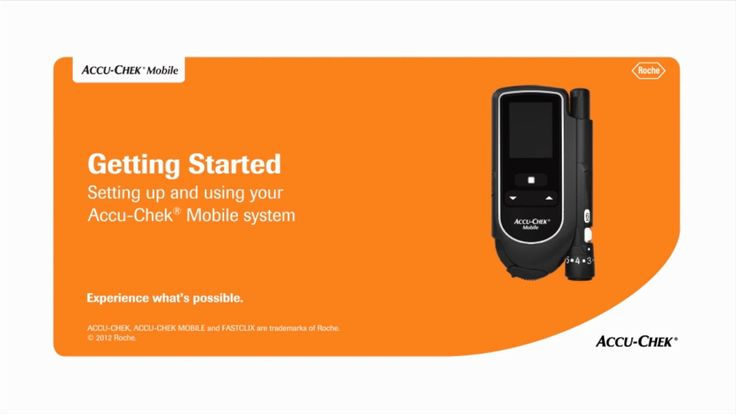 How To Use The Accu-Chek® Mobile Blood Glucose Meter System