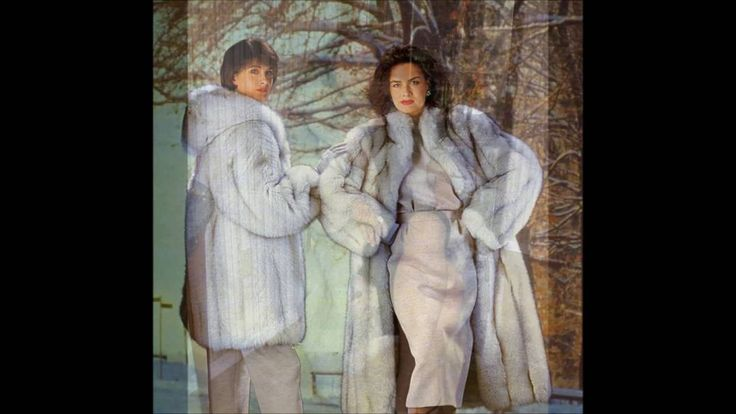 Woman In White Fox Fur Part 6