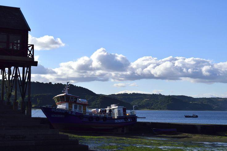 https://flic.kr/p/E2iiFu | Chiloé002 | Atardece en la Caleta de Achao, Isla de Quinchao, Archipiélago de Chiloé, Los Lagos, Chile