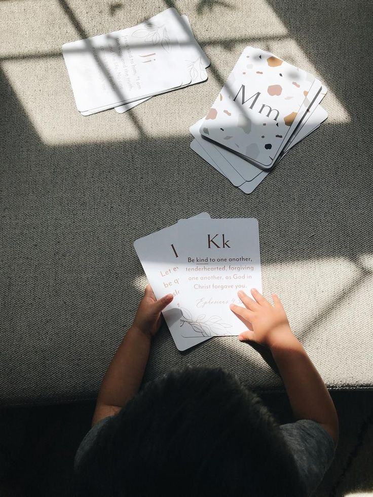 Scripture Cards ABC Bible Verse Cards Scripture Memory