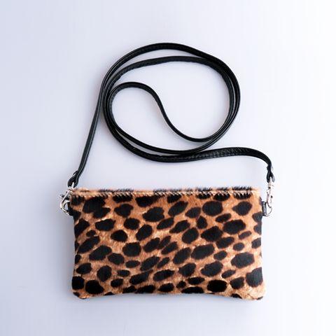 Gadabout Mini Clutch - Cheetah Ponyhair - Tom Gunn