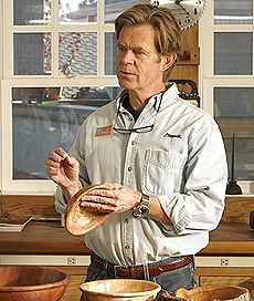 William H. Macy: Woodturner - Fine Woodworking Article