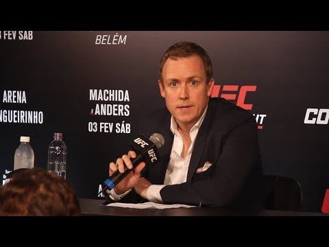 MMA UFC Belem: UFC Executive David Shaw Post-Fight Press Conference - MMA Fighting