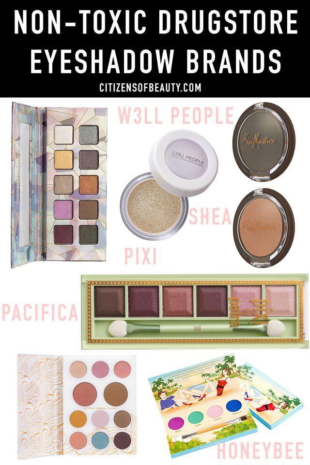 Best Non-Toxic drugstore Eyeshadow Makeup Brands