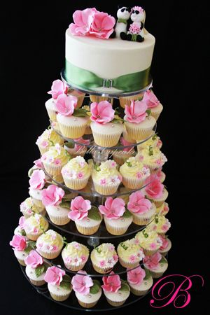 17 Best Images About Cupcake Towers On Pinterest Baby