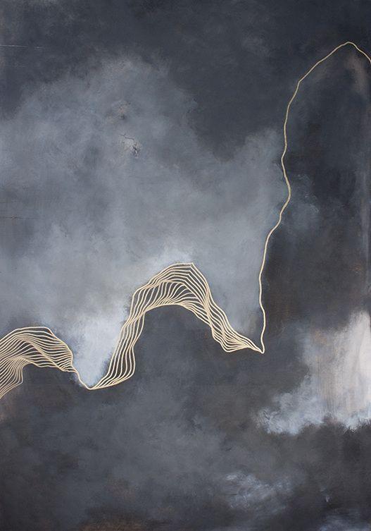 Infinite jest, 20″ x 30″ acrylique et huile sur toile, 2015 Élégance, c'est le premier terme qui me vient à l'esprit lorsque je découvre le travail de Tracie Cheng. Cette ar…: