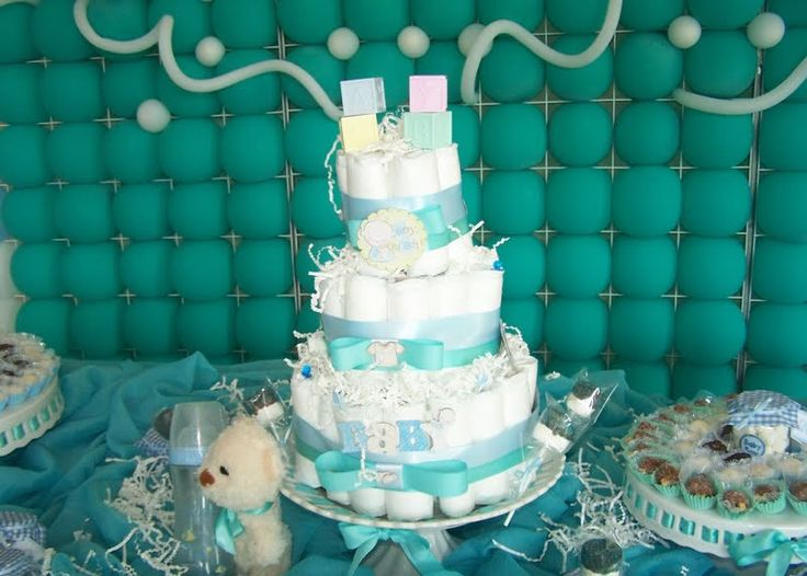 Turquoise For Baby Shower | Baby Shower, Turquoise And White Baby Shower, Turquoise  Baby
