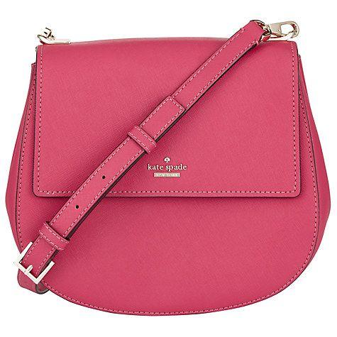 Buy kate spade new york Cameron Street Byrdie Leather Across Body Bag Online at johnlewis.com