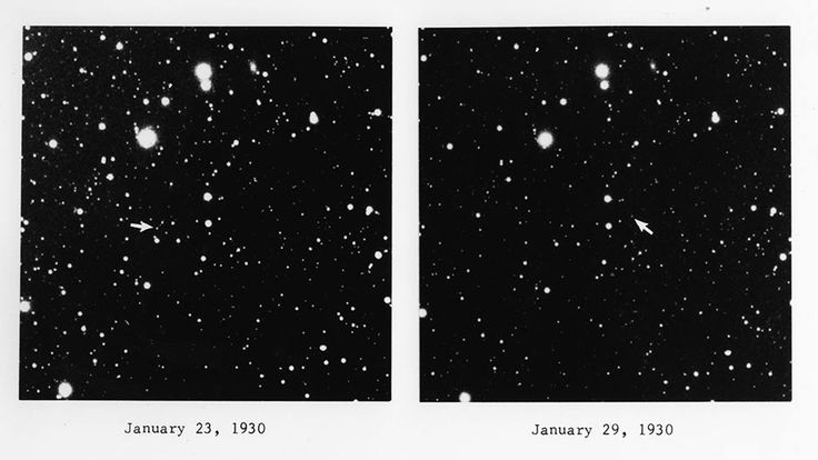 Jan 29, 1930. Pluto discovery plates