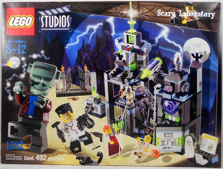 Lego Studios 1382 Scary Laboratory Set New Sealed #LEGO