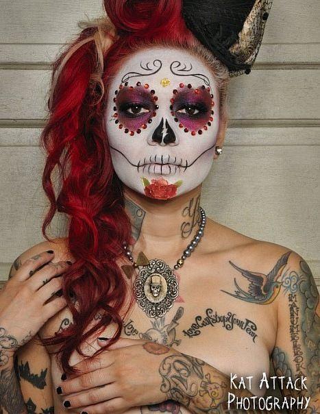 #halloween Sugar Skull