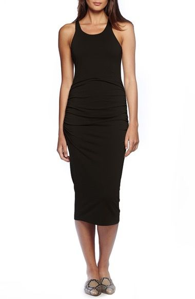 Michael Stars Racerback Midi Dress (Regular & Petite) available at #Nordstrom