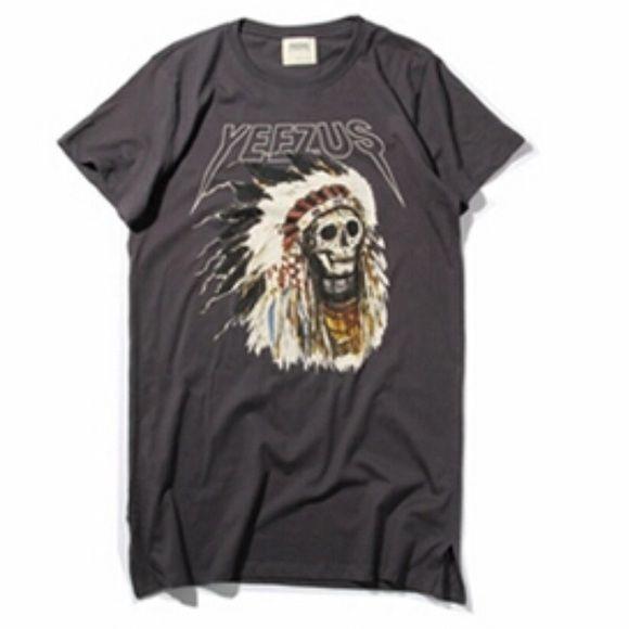 Tops - Yeezus Tour T-Shirt BLACK Yeezy