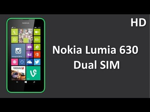 Nokia Lumia 630 Dual SIM with 8GB Internal Memory, 4.5 Inch Inch IPS Display and Windows OS 8.1
