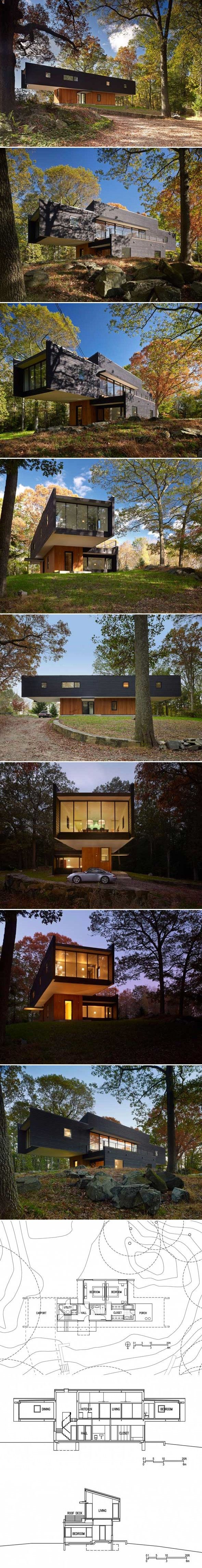 Waccabuc House par Rafael Vinoly Architects - Journal du Design