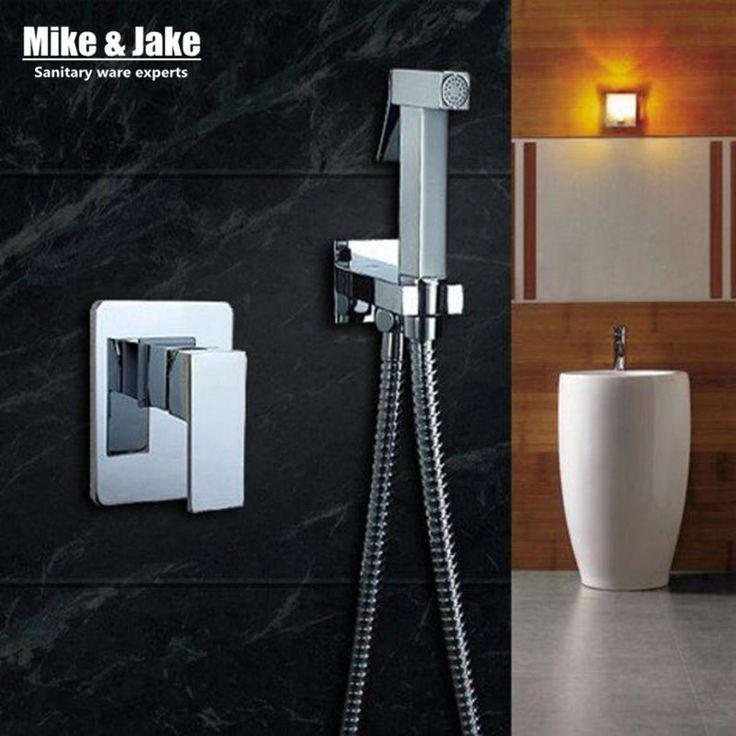 Ванная комната смеситель для биде туалет биде спрей душ комплект включает ручной душ пистолет биде краны купить на AliExpress