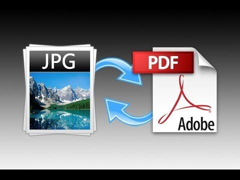 TUTORIAL Convertir de PDF A  JPG   Y  JPG A PDF - PORTABLE