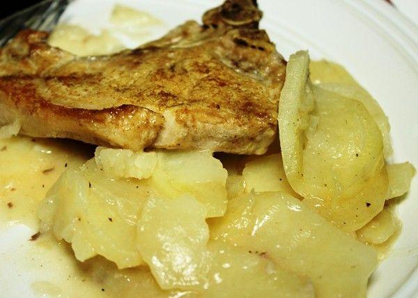 Свинина тушеная с картошкой и грибами   Рецепт ...