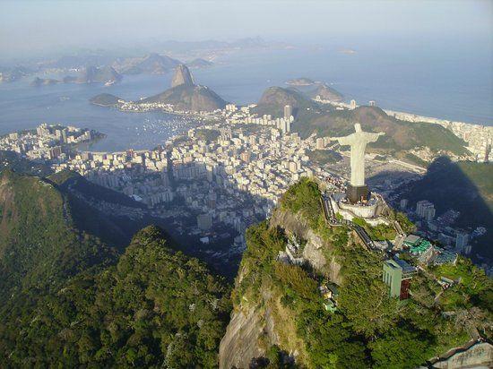 10 luoghi meravigliosi da vedere dall'alto