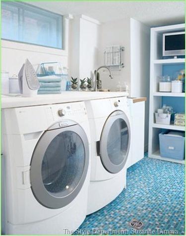 love this wash room floor