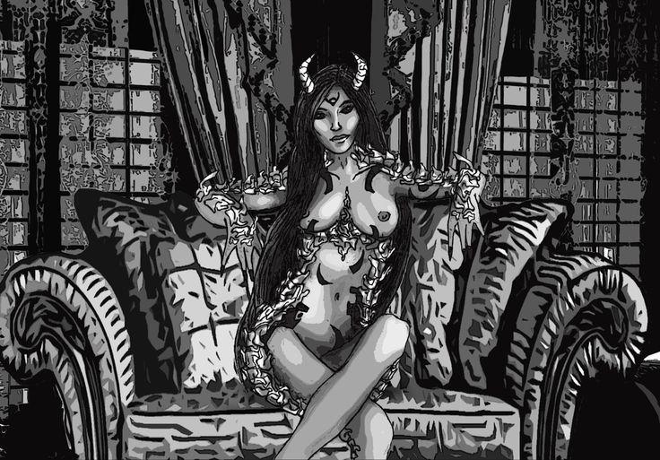 Do i have your attention Des? by veshin9 on DeviantArt