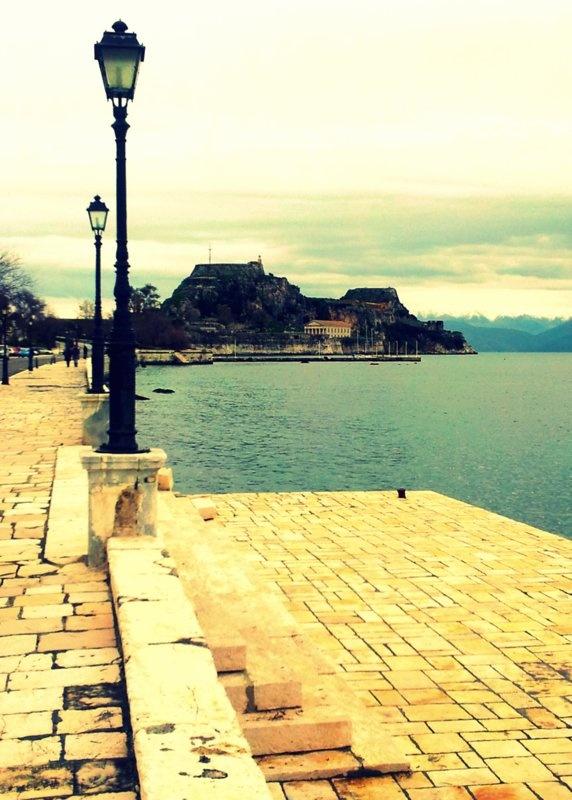 Corfu ... Garitsa Bay