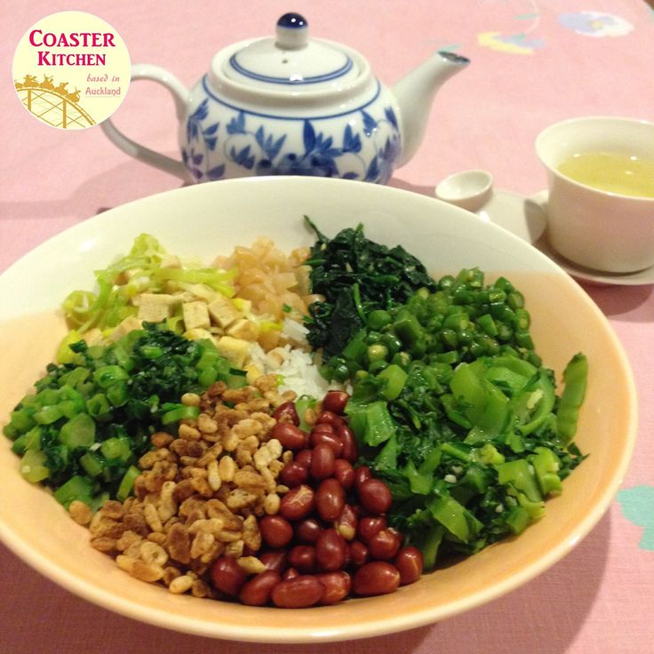 """In my opinion, Hakka version of """"ham cha (咸茶)"""" or """"lei cha (雷茶)"""" is basically the Chinese version of bibimbap. One of the difference between the Chinese and Korean ver…"""