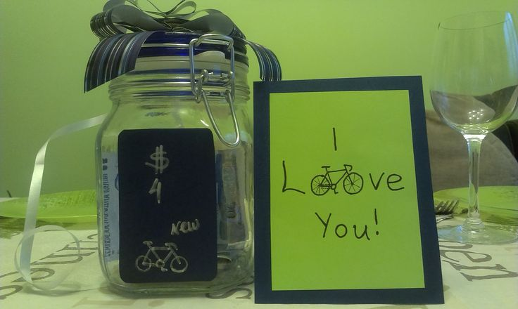 Birthday card for bike lovers