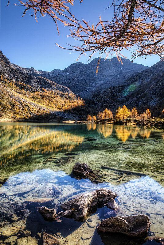 Lago d'Arpy Valle D'Aosta Italy