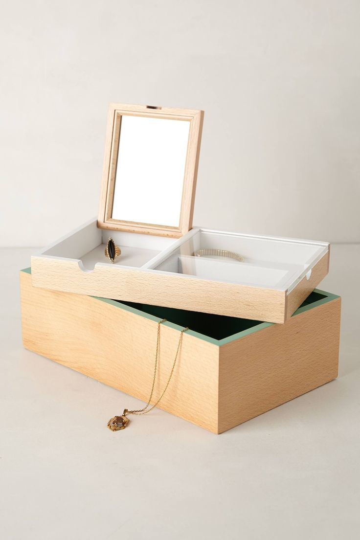 Alcove Jewelry Box by Antropologie & 267 best jewellery boxes images on Pinterest | Jewelry box ... Aboutintivar.Com