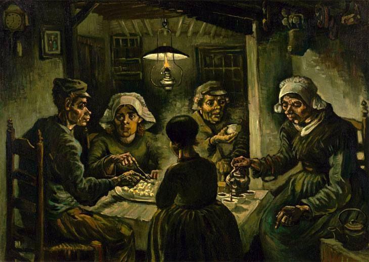Patates Yiyenler / The Potato Eaters